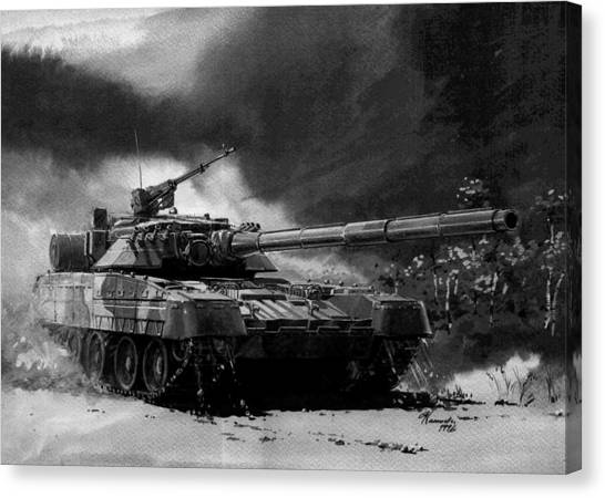 Atlantic Division Canvas Print - Soviet Aggression IIi by L Brown