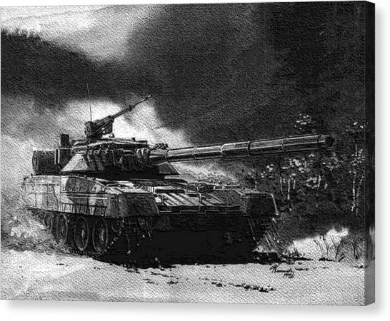 Atlantic Division Canvas Print - Soviet Aggression Iv by L Brown