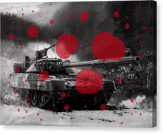 Atlantic Division Canvas Print - Soviet Aggression V by L Brown