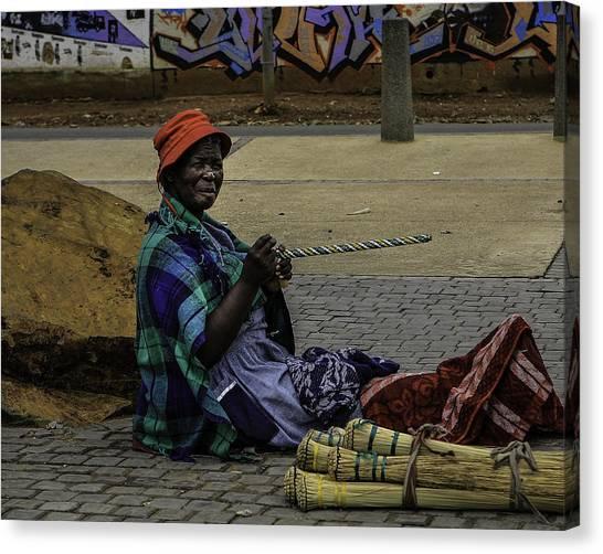 Soweto Artist Canvas Print