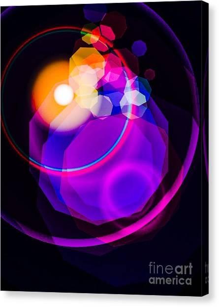 Space Orbit Canvas Print