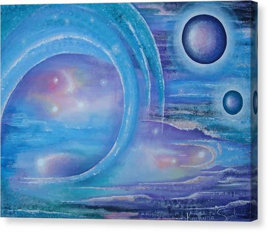 Space Paradise Canvas Print