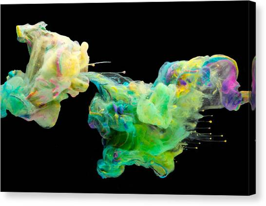 Space Romance - Abstract Photography Art Canvas Print