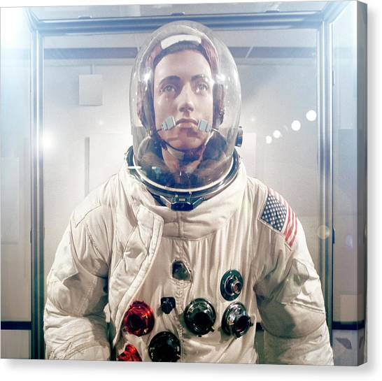 Space Suit Canvas Print - Space Suit by Steve Taylor/science Photo Library