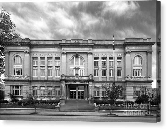 University Of Louisville Canvas Print - Spalding University Center by University Icons