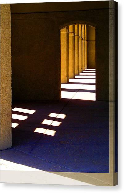 Spanish Arches Light Shadow Canvas Print