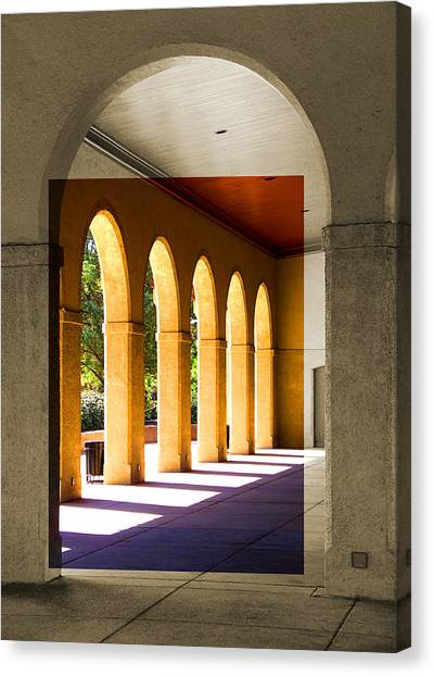 Spanish Arches Canvas Print