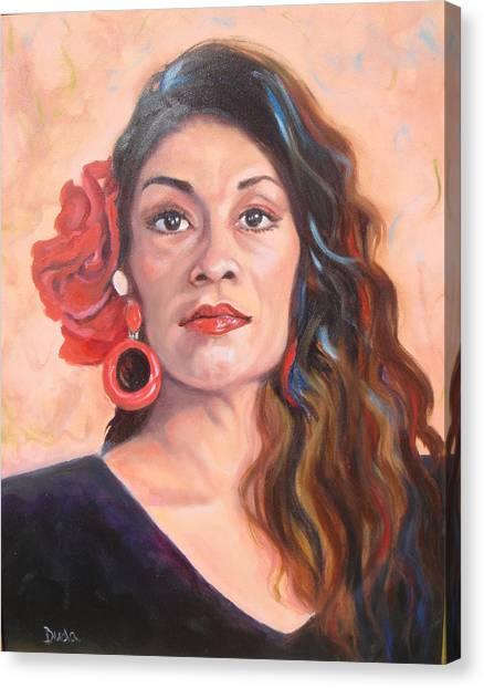 Spanish Eyes Canvas Print