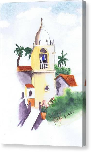 Spanish Mission Canvas Print