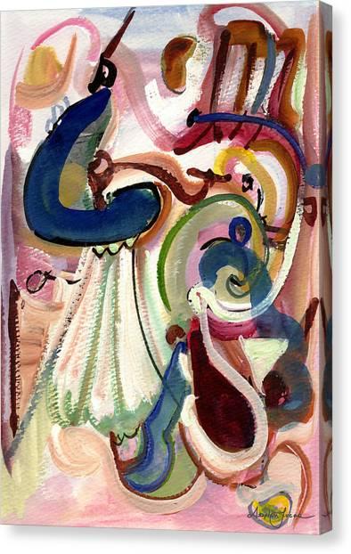 Spanish Rose Canvas Print