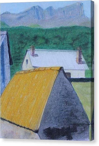 Spanish Village Canvas Print