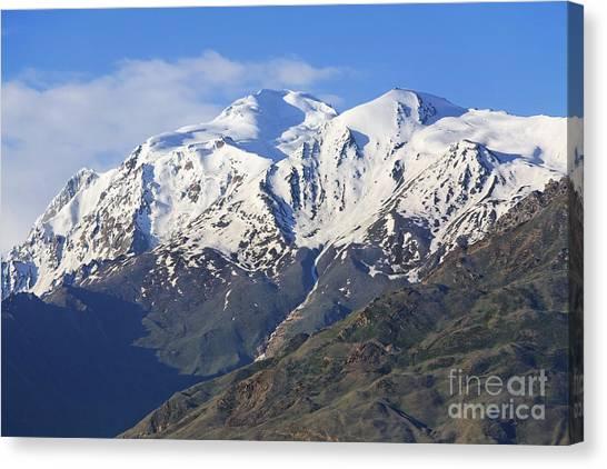Karakoram Canvas Print - Spantik Peak In The Karakorum Pakistan by Robert Preston