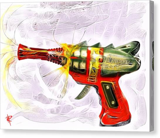 Spark Maker Canvas Print by Russell Pierce