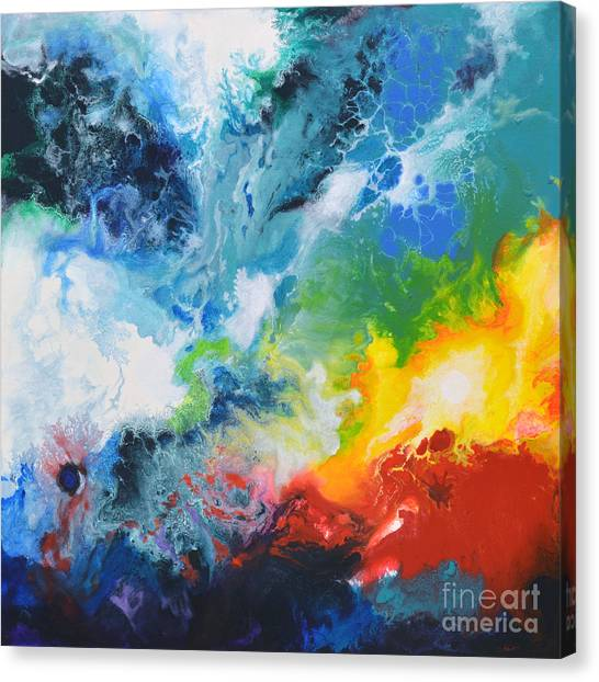 Spark Of Life Canvas Two Canvas Print