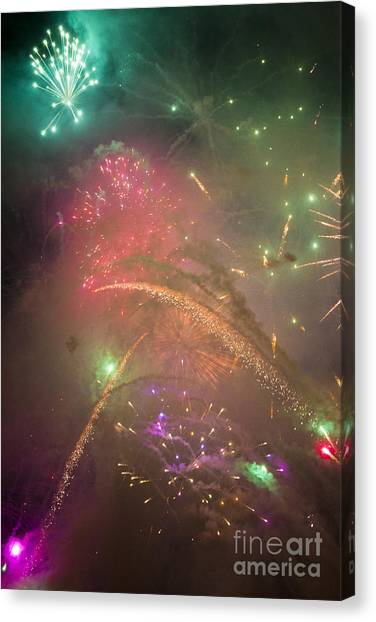 Sparked Sky Canvas Print