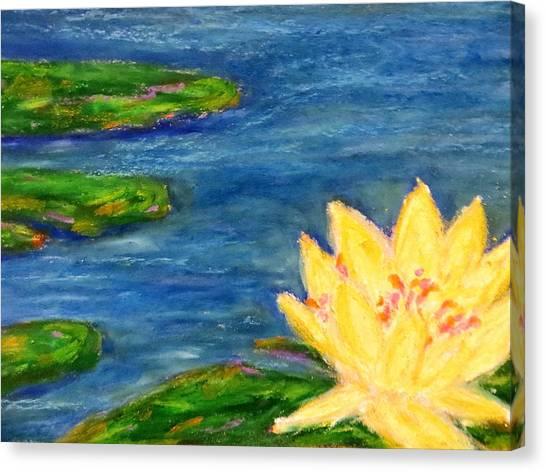 Sparking Lillies Canvas Print