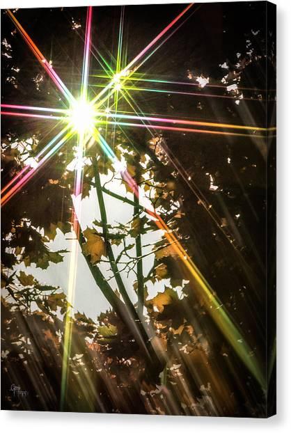 Sparkling Dawn -twin Canvas Print