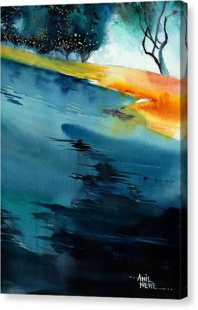 Spatial 1 Canvas Print