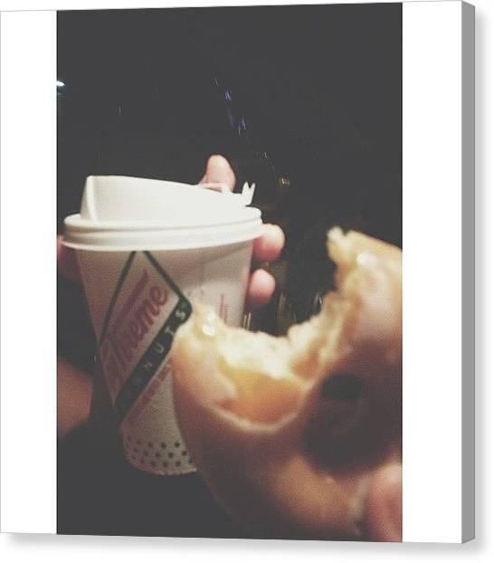 Doughnuts Canvas Print - Speaking Of, A True Friend Will Drive by Rachel Morris