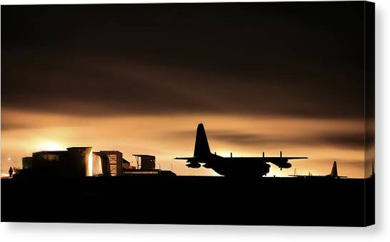 Acc Canvas Print - Special Operations Command by JC Findley