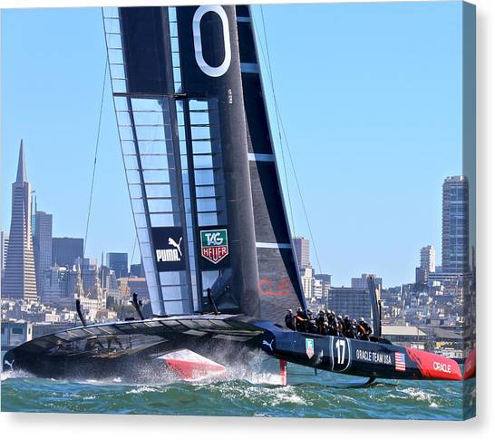 Oracle America's Cup Winner Canvas Print