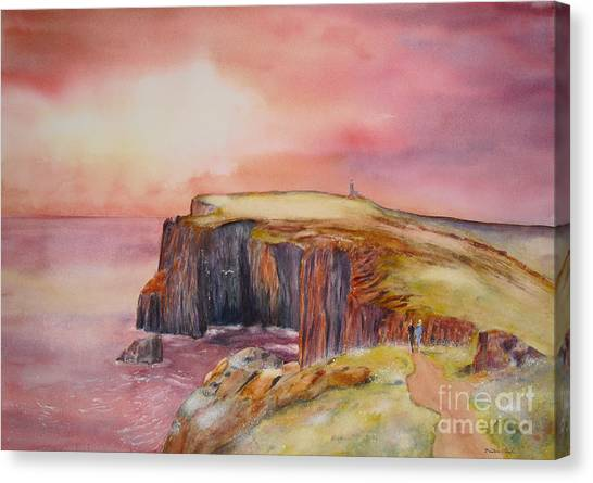 Spectacular On The Isle Of May Scotland Canvas Print