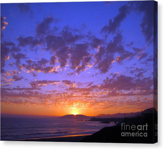 Spectacular Sunset  Canvas Print