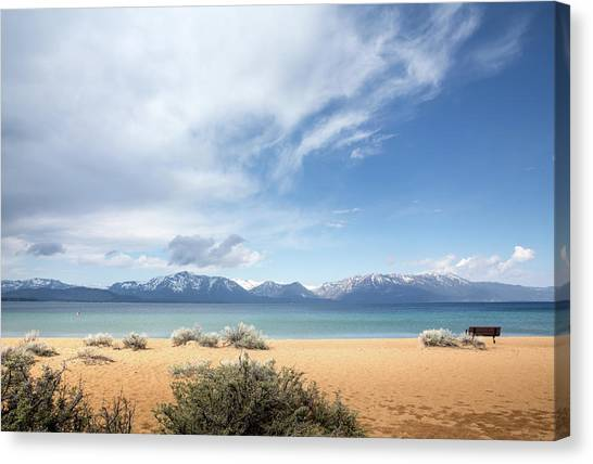 Spectacular View Of Lake Tahoe Canvas Print