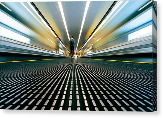 Speed Canvas Print by Sebastian-alexander Stamatis
