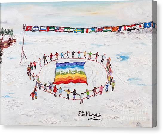 Speranza Di Pace Canvas Print