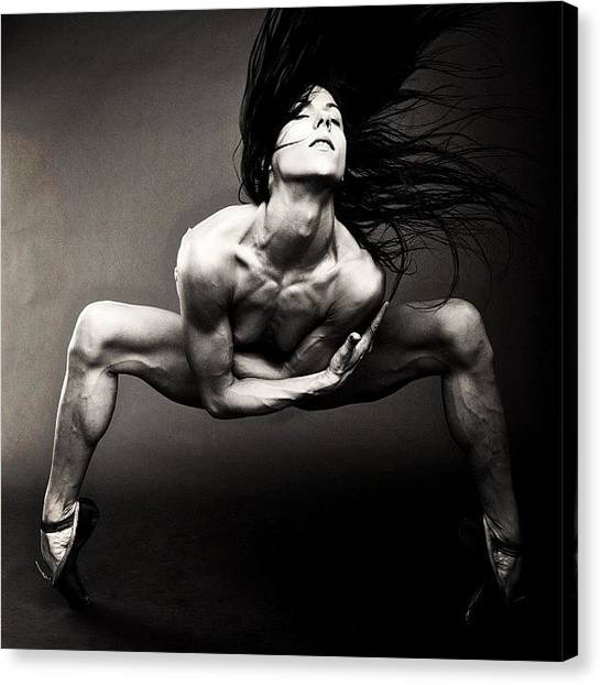 Ballet Canvas Print - Spider  Giulia Piolanti  Photo By by Bryon Paul Mccartney