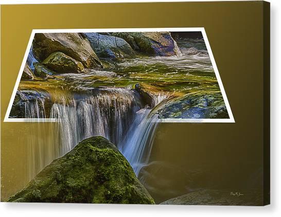 Landscape - Mountain - Spillover  Canvas Print