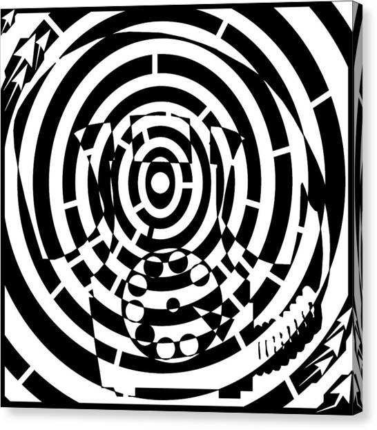 Spin Art Rotary Phone Maze Drawing By Yonatan Frimer Maze Artist