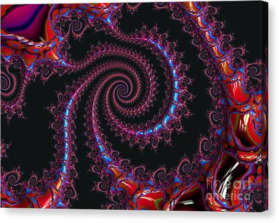 Spinal Twist Canvas Print