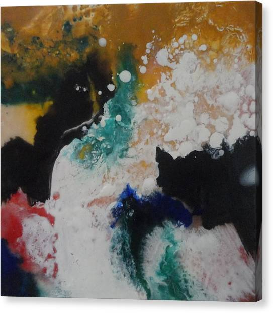 Spindrift Canvas Print by Elaine Elliott