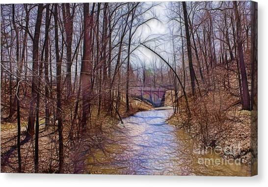Spingtime In Western New York Canvas Print