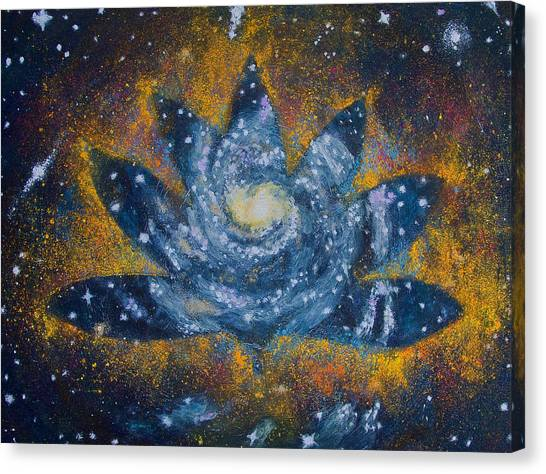 Spiral Bloom Canvas Print