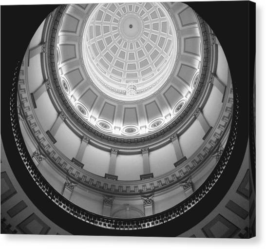 Spiral Dome Canvas Print