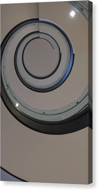 Drexel University Canvas Print - Spiral  by Kathleen  Vogel