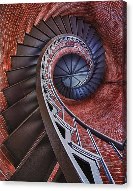 Spiraling Canvas Print