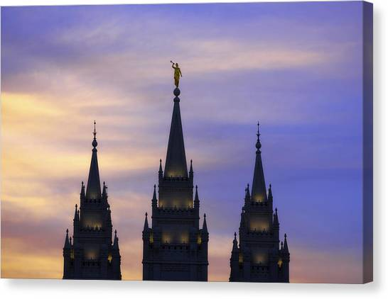 Salt Canvas Print - Spires by Chad Dutson