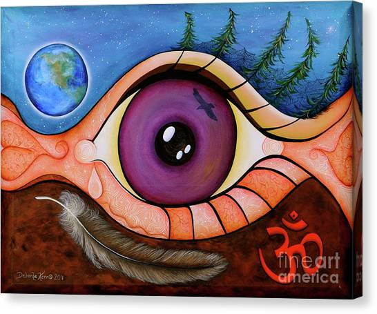 Spirit Eye Canvas Print