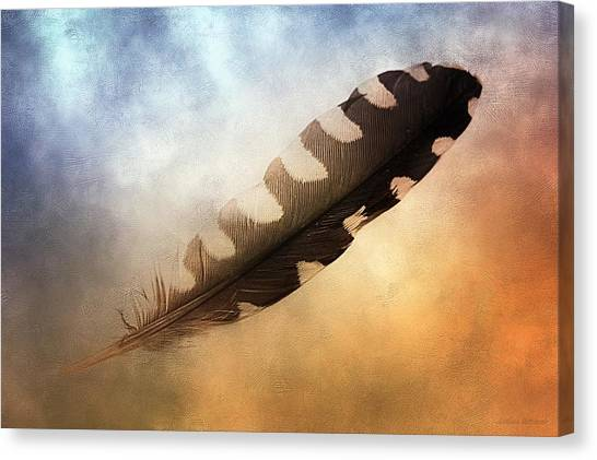 Spirit Feather Canvas Print