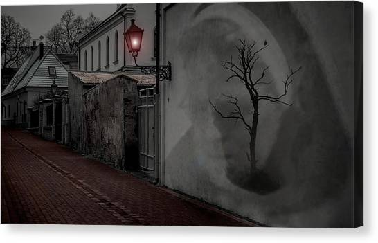 Spirit In The Night Canvas Print