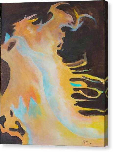 Spirit Of The Fire Canvas Print