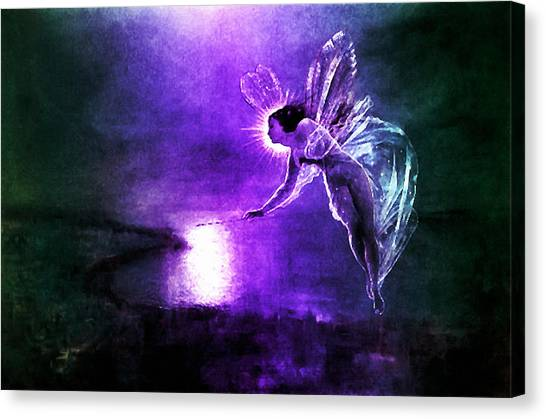 Spirit Of The Night Canvas Print