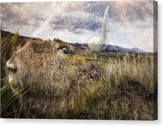 Canvas Print featuring the photograph Spirit Of The Past by Belinda Greb