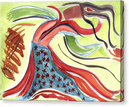 Spirit Sharing Canvas Print