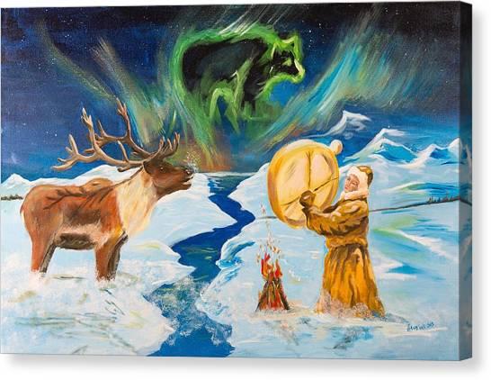 Spirits Call Canvas Print
