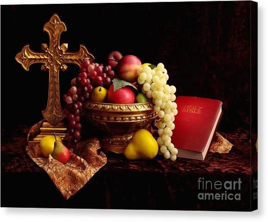 Spiritual Fruit Canvas Print